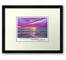 The Year Of The Babylost - January 2011 Framed Print