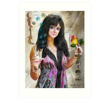 Bells for Her (Art & Poetry) Art Print