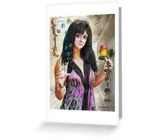 Bells for Her (Art & Poetry) Greeting Card
