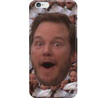 Parks and Rec - Chris Pratt Face iPhone Case/Skin