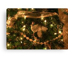A Partridge in a Christmas tree.....  Canvas Print