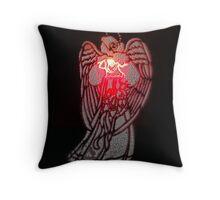 Angelic Messenger Throw Pillow