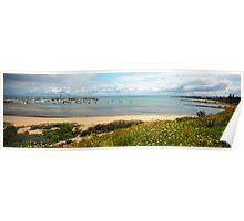 Sandringham Yacht Club - Panorama Poster