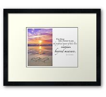 The Year Of The Babylost - July 2011 Framed Print