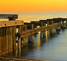 Seaside Ruins - Mentone by Greg Earl