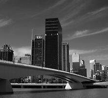Brisbane City in Black & White by kraMPhotografie