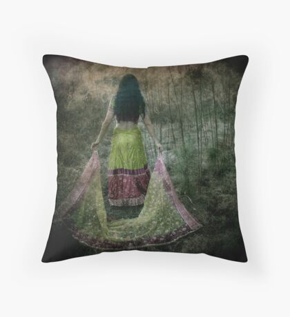Searching Throw Pillow