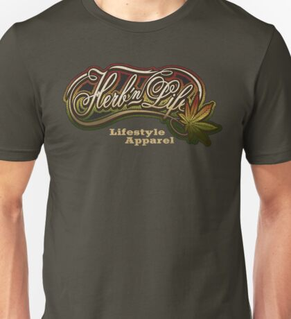 "Herb-n-Life ""Rasta"" Logo Unisex T-Shirt"