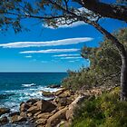 Rocks, Sea and Stripes in the Sky by Clare Colins