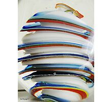 Stacks Of Colour Photographic Print