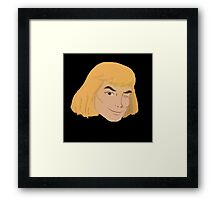 He Man Winks Framed Print