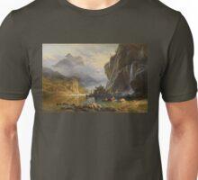 Indians Spear Fishing - Albert Bierstadt Unisex T-Shirt