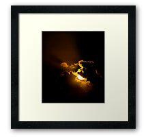 RIM LIGHTING Framed Print