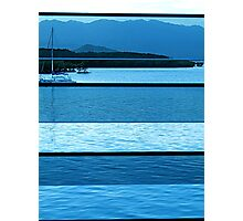 louvred sailboat Photographic Print
