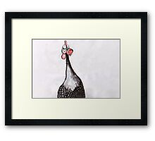 What! What! Framed Print