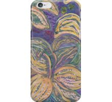 Daylilies at Night iPhone Case/Skin
