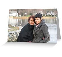 Mother and Daughter Reunion Greeting Card