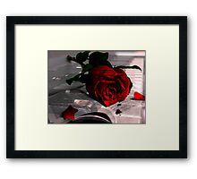 Every Rose Has It's Thorn Framed Print