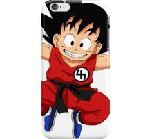 Kid goku 47 iPhone Case/Skin