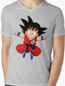 Kid goku 47 Mens V-Neck T-Shirt
