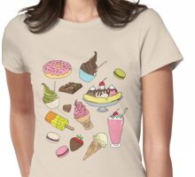 Dessert Explosion! Womens Fitted T-Shirt