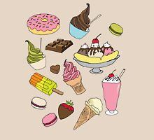 Dessert Explosion! Womens Fitted T-Shirt
