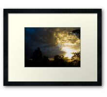 Sunrise 10 Framed Print