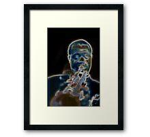 Satchmo! Framed Print