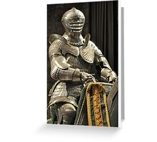 Suit of Armour at Dean castle Greeting Card