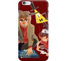 Gravity Falls- Dipper and Grunkle Ford iPhone Case/Skin