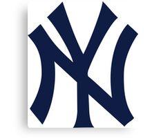 New York Yankees MLB Logo NYC Canvas Print
