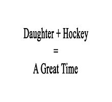Daughter + Hockey = A Great Time by supernova23