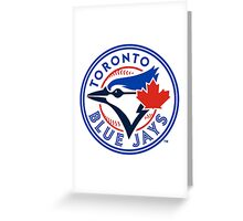 Toronto Blue Jays MLB Logo Greeting Card