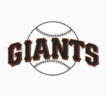 San Fransisco Giants MLB Logo Kids Clothes