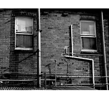 Piping Photographic Print