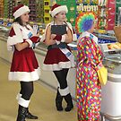 Saturday Shoppers by John Dalkin