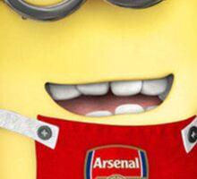 ARSENAL MINIONS Football Funny Sticker