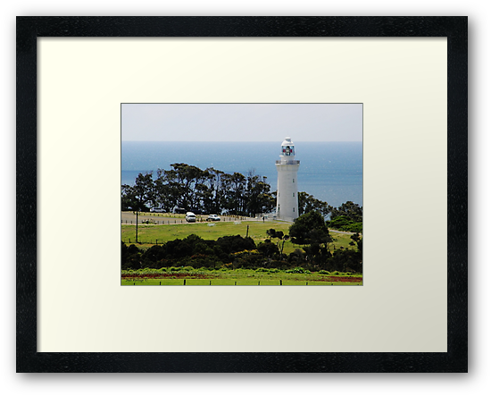 Lighthouse at Table Cape by Judi Rustage