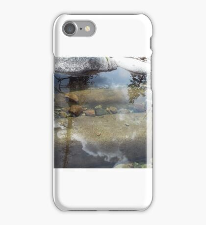 Reflections in the water iPhone Case/Skin
