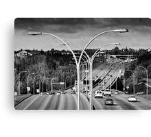 Suburban Landscape Canvas Print