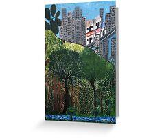 Roots of the city - card Greeting Card