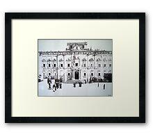 Auberge de Castille-Valletta Framed Print