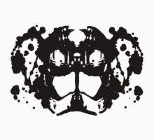 Helmet Rorschach Kids Tee
