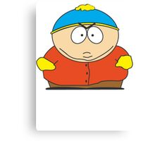 Cartman Drawing Canvas Print
