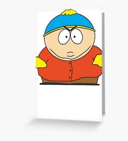 Cartman Drawing Greeting Card