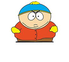Cartman Drawing Photographic Print