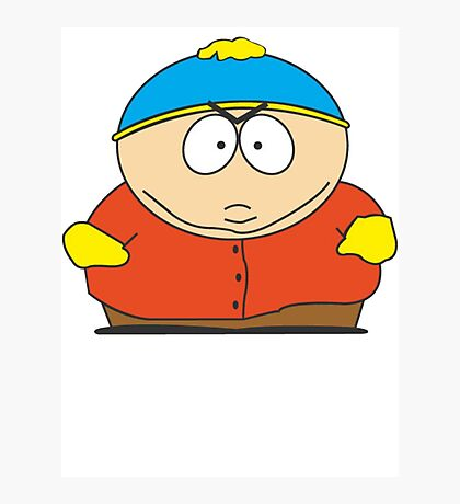 Cartman Drawing Photographic Print