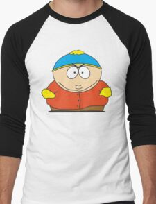 Cartman Drawing Men's Baseball ¾ T-Shirt