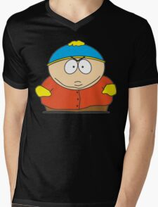 Cartman Drawing Mens V-Neck T-Shirt
