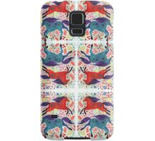 A Horse of Red and Blue Samsung Galaxy Case/Skin